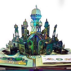 Pop Up page from The Wonderful Wizard of Oz by Robert Sabuda. The most beautiful pop up book I have ever seen! There are even interactive pop ups. Very lovely.