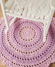Even if you have never used a crochet hook before, you're going to want to after seeing how easy it is to make a Mandala floor rug. Mandala ...