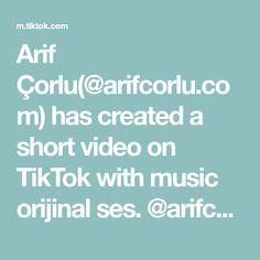 Arif Çorlu(@arifcorlu.com) has created a short video on TikTok with music orijinal ses. @arifcorlu ™️☑️ #arifcorlu Create, Music, Musica, Musik, Muziek, Music Activities, Songs