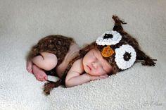 Disfraz bebe buho