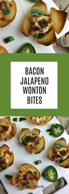 Bacon Jalapeño Wonto
