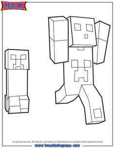 Ausmalbilder Minecraft Haus 1085 Malvorlage Minecraft ...