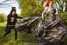 Outtake from Jack & Karen's Vogue magazine photoshoot by Annie Liebovitz.