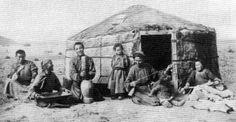 Бедная монгольская юрта