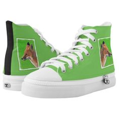 #Red Fox High-Top Sneakers - #womens #shoes #womensshoes #custom #cool
