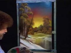 Bob Ross Ebony Sunset - The Joy of Painting (Season 1 Episode 3) ★ || CHARACTER DESIGN REFERENCES (https://www.facebook.com/CharacterDesignReferences & https://www.pinterest.com/characterdesigh) • Love Character Design? Join the #CDChallenge (link→ https://www.facebook.com/groups/CharacterDesignChallenge) Share your unique vision of a theme, promote your art in a community of over 25.000 artists! || ★