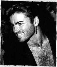 George Michael, oh those pearly whites!