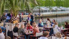Strand Zuid Amsterdam terras