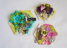 Komplet magnesów/ A set of magnets Springboard, Greeting Cards Handmade, Scrapbook Paper, Card Ideas, Magnets, Stamp, Create, Stamps