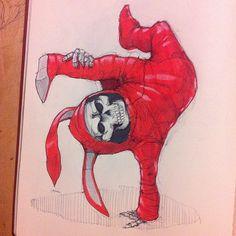 Just having fun sketching in my moleskine!