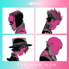 """I Re-Created the Demon Days art for Gorillaz's new album """"the NOW NOW"""""""