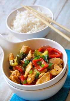 Homemade Kung-pow chicken