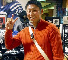 【大阪店】 2013年12月25日 オクラホマシティー・サンダーのファンのお客様です!! デュラントはやっぱりカッコイイですね! 今年も楽しみです♪ ゚+.゚ヽ(*>∇<)ノ゚.+゚