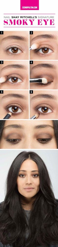 31 Makeup Tutorials for Brown Eyes - Here's Exactly How to Get Shay Mitchell's Signature Smoky Eye -Great Step by Step Tutorials and Videos for Beginners and Ideas for Makeup for Brown Eyes -Natural Everyday Looks -Smokey Prom and Wedding Looks -Eyeshadow and Eyeliner Looks for night
