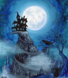 Blue Moon Haunted House