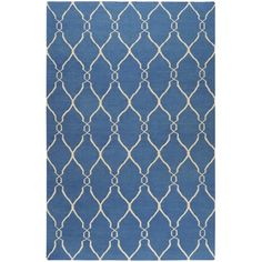 I pinned this Jill Rosenwald Fallon Rug from the Style Study: Maritime Chic event at Joss and Main!