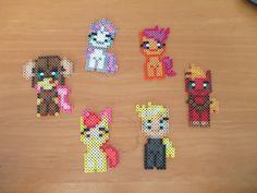 MLP Perler Ponies by WalkerJrInc