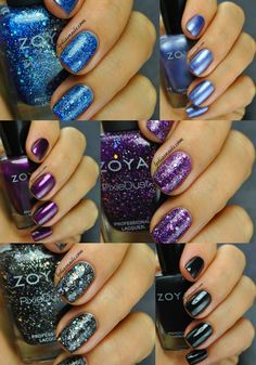 Zoya Wishes Holiday 2014 Swatches and Review