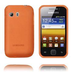 TPU Shell (Orange) Samsung Galaxy Y-Skydd