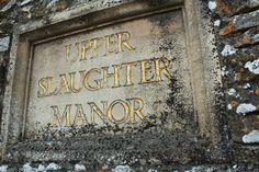 Upper-Slaughter-manor-sign via twirlingbetty uk