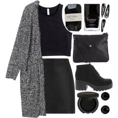 344 by original-kids on Polyvore featuring Monki, H&M, T By Alexander Wang, Vagabond, Pieces, Givenchy, Jack Black and Gorgeous Cosmetics