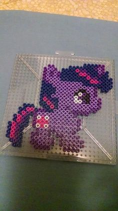 MLP Twilight Sparkle Chibi perler beads by swimmingangel on deviantART