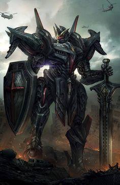 Paladin Argent by Tan Ho Sim 4 Arte Gundam, Gundam Art, Futuristic Robot, Futuristic Armour, Robot Concept Art, Armor Concept, Big Heroes, Cyberpunk, Mecha Suit