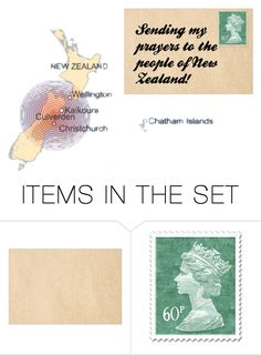 """Prayers for New Zealand"" by maison-de-forgeron ❤ liked on Polyvore featuring art"