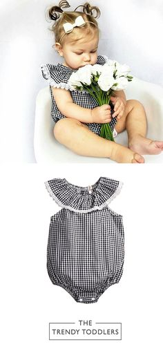 SALE 45% + FREE SHIPPING! SHOP Our Collection of Cute Spring Rompers for Baby Girls