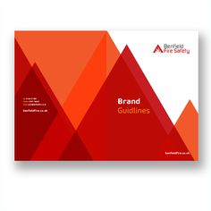 Brand Guidelines for Benfield Fire Safety Fire Safety, Brand Guidelines, Branding Design, Business, Store, Corporate Design, Identity Branding, Business Illustration, Brand Design