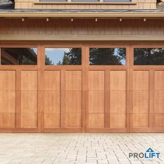 Are you ready to choose a new garage door to update and improve your home's curb appeal?  Wondering if you should include windows in the door design? Here's what you need to know before deciding.... | New Garage Doors with Windows:   The Pros and Cons by ProLift Garage Doors | #garagedoors #garagedoordesign #curbappeal