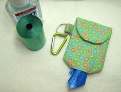 Poop Bag Dispenser Hand Gel Sanitizer Carrier by ThePupEmporium