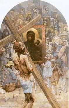 Jerzy Duda Gracz. Golgoota Jasnogorska