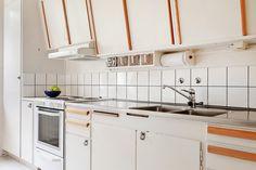 hemnet Kök med stomme i bevarad 50-tals retrostil