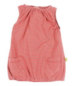 Take a look at this Rose Stripe Organic Noemi Dress - Infant, Toddler & Kids by Nui Organics on #zulily today!