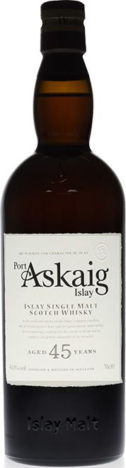 Port Askaig 1968 - 45 Year Old - Islay Single Mal from the Caol Ila Distillery - Cask Strength - Single Malt Whisky, Tropical Fruits, 45 Years, Distillery, Whiskey Bottle, Herbalism, Strength, Herbal Medicine