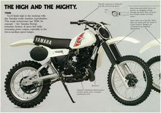 Yamaha Brochure YZ465 YZ250 YZ125 1981 VMX Catalog Repro YZ465H YZ250H YZ125H | eBay