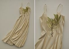 Trompe L'Oeil Threads Artist Ron Isaacs constructs these vintage clothing and plant material reliefs out of Finnish birch plywood and then finishes them with acrylic paint.