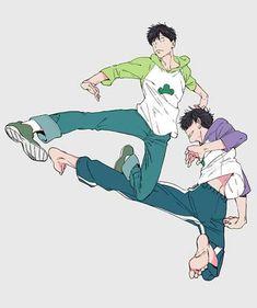 Hot Anime Boy, All Anime, Anime Guys, Anime Cosplay, Onii San, Osomatsu San Doujinshi, Ichimatsu, Anime Sketch, Manga