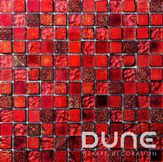 Atenea 29.8x29.8 cm: Mosaico de resina y cristal en tonalidades rojizas.#duneceramica #diseño #calidad #diferenciacion #creatividad #innovacion #tendencia #moda #decoracion #design #quality #differentiation #creativity #innovation #trend #fashion #decoration #duneemphasis #mosaico #cristal #piedra #mosaic #glass #stone  http://www.dune.es/es/products/emphasis-mosaico/materia-mezcla-de-materiales/atenea/186365