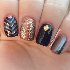 black gold and glitter