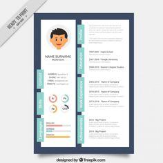 Designer Creative Resume Template Premium Vector