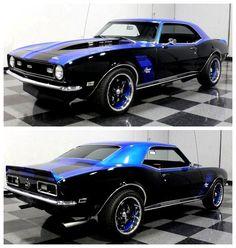 hotamericancars:  Gorgeous 1968 Chevrolet Camaro SS Custom See Article + Video  -
