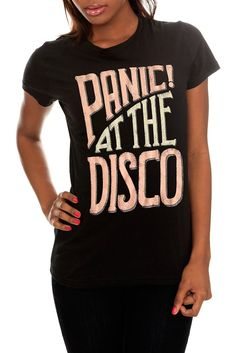 Panic! at the Disco Faded Girls T-Shirt #hottopic $20.50-24.50 (bogo 50%) (sizes xs-3x)