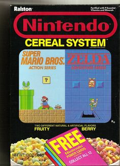 Nintendo Cereal System!