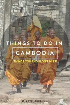 Planning a trip to Cambodia? Here are a few things that you shouldn't miss while…