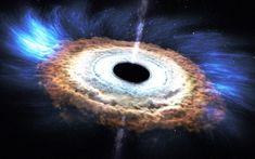 Astronomowie wykryli gigantyczną czarną dziurę, która co dwa dni pożera gwiazdę