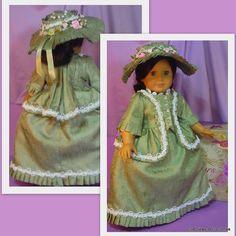 Formal Colonial Dress fits American Girl von CSBSewsDollClothes