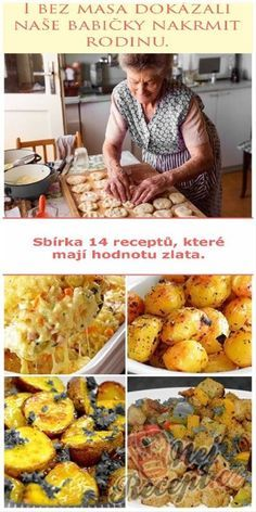 Vegetarian Recipes, Cooking Recipes, Healthy Recipes, Eastern European Recipes, Food Porn, Homemade Pastries, Czech Recipes, No Salt Recipes, Avocado Recipes