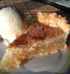 Pineapple Pie.... If you never had pinapple pie you don't know what you are missing! One of the best pies ever!!!!